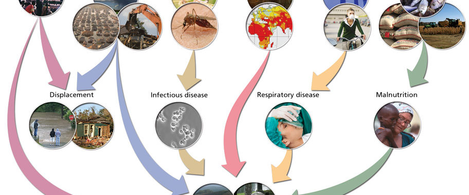effects of climate change on human health pdf